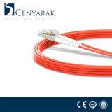 FC de fibre optique aux fils duplex à plusieurs modes de fonctionnement de connexion de LC Om1 Om2