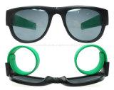 Lunettes de soleil pliables de papa de courroie de poignet de sports de lunettes de soleil de bracelet de claque (SP699001)
