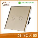 Interruptor de iluminação elétrico do toque eletrônico Home