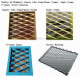최신 판매 검정 색깔 천장 훈장을%s 알루미늄 철망판