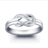 In het groot Rhodium van de Plaat van het Huwelijk van de Prijs van Juwelen Beste Ring 925 van de Vrouwen van het Plateren Zilveren Juwelen