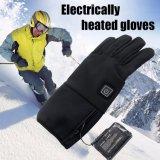 Smart зимой на велосипеде с электроприводом вещевым ящиком ультратонкие противоскользящие водонепроницаемые перчатки спорта на открытом воздухе