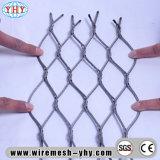 Rede inoxidável do engranzamento do cabo entrançado de aço