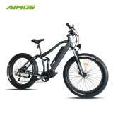bici gorda del neumático E de la suspensión completa de 250W 1000W