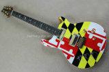 Нот Hanhai/гитара цветастого типа Prs электрическая (тип подписи)