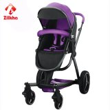 Carrinho de criança de bebê à moda, portátil - um Multi-Function estável e seguro