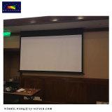 135 Scherm van de Projectie van de Stof van de Glasvezel van het 16:9 HD van de duim het Elektrische voor het Theater/de School/het Klaslokaal van het Huis