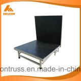 Fase móvil de aluminio plegado Altura: 0.4-0.6m/0,6-0.8m