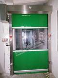 China PVC Proveedores Rollo de dinámica de la puerta de alta velocidad para almacenamiento en frío