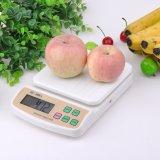 10kg de plástico de alta capacidad de balanza de cocina