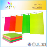Papel fluorescente del color de China