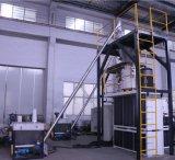 Misturador composto de alta velocidade do PVC com alimentador do vácuo