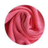 Изготовленный на заказ полотенце ванны печати с тканью чистки конструкции цветка