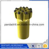 Bits Drilling de rocha da linha de ferramenta Drilling da pedreira de R32 43mm 45mm