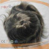 安いインドの毛の人のToupee (PPG-l-046146)