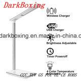Le chargeur sans fil de téléphone du Qi le plus neuf WPC avec la lampe de Tableau de RoHS DEL de la CE aucun signal d'échantillonnage