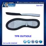 Nuevo color TPR Outsoles de la fluorescencia de la manera para los zapatos del deporte