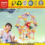 Blocos de artesãos Universal Thinkertoy Waterwheel Brinquedo Peafowl fantasia colorido