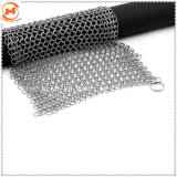 Acero inoxidable 316 Chainmail Hierro fundido Scrubber