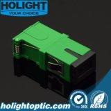 フランジのない光ファイバSc/APCシャッターアダプター