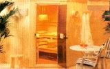 Sauna Seca da série de banho de Fluxo