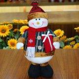 Jouet en plastique de Noël du père noël de bonhomme de neige en gros d'élans