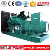 60 kVA motor Cummins 4BTA3.9-G11 Conjunto gerador diesel silenciosa