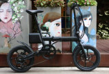 36V Cmopact, das elektrisches Fahrrad faltet