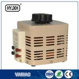 Transformador de tensão variável de fase única com controles de temperatura