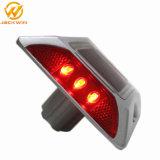 6 LED Réflecteur en aluminium haute compression chats de goujon de la route des yeux