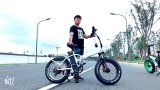 """[هرلي] سمين إطار العجلة [كندا] 20 """" جبل درّاجة كهربائيّة ([تدن01ف])"""