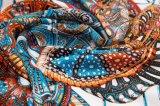 方法軽くて柔らかいスカーフの勾配はジョーゼットの女性の絹のスカーフを着色する