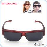 Stark marco rojo encajar UV400 de gafas de sol Gafas de protección de la pesca de Voleibol
