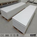 Kunstmatig Comité van de Muur van de Steen 6mm Witte Stevige Oppervlakte