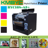 2017년 t-셔츠와 전화 상자 플라스틱 지상 디지털 UV 인쇄 기계