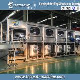 Línea de relleno de consumición automática de la embotelladora del agua mineral 5gallon de Fullly