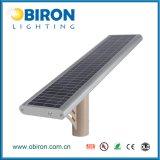 luz de calle solar toda junta del sensor de movimiento de 12W IP65 Aio PIR