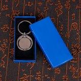 직업적인 금속 둥근 돌릴수 있는 Keychain 또는 공백 열쇠 고리 또는 십자가 중요한 홀더