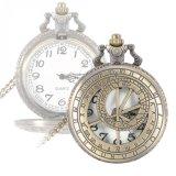 Relógios de bolso de quartzo Redonda Steampunk
