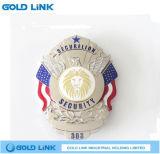 La police faite sur commande d'insigne en métal Badge des métiers de souvenir de Pin de revers