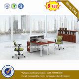 キャビネット(HX-GA011)が付いている中国のオフィス用家具MFCのコンピュータの机