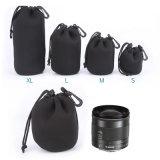 Le vendite all'ingrosso impermeabilizzano il sacchetto del pacchetto dell'obiettivo di macchina fotografica dell'obiettivo SLR della calotta di protezione
