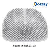 Amortiguador de asiento impermeable respirable de coche del silicón de la pista de la silla de la oficina