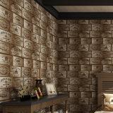 2017 carrelage artificiel de PVC, papier de mur, PVC Wallcovering, décor de mur, tissu de mur de PVC, papier peint de PVC