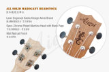 Marken-Qualitätsstarter-Furnierholz-Karosserien-Sopran-HawaiiUkulele China-Aiersi