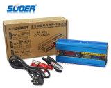 Cargador de batería inteligente del cargador de batería de coche de Suoer 24V 20A (DC-2420A)