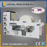 Machine d'impression flexographique de papier thermosensible de 4 couleurs