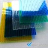 Serra di plastica libera del policarbonato che copre i comitati vuoti del solido del PC degli strati