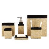 L'accessorio della stanza da bagno della resina ha impostato per la decorazione domestica
