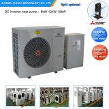 - Monoblockのヒートポンプのヒーターに水をまく25c冬領域の床150sqのメートルの家Heating+Dhw自動Defrost12kw/19kw/35kw/70kw Eviの空気